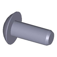 Screw, truss head, for plastics, inch