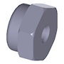 Self-locking hexagon nut (NE/NM) inch